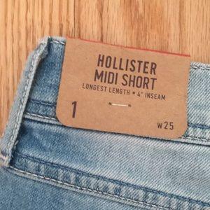 Hollister Shorts - Denim Shorts